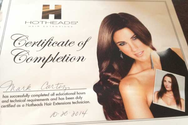 Celebrity clip in hair extensions
